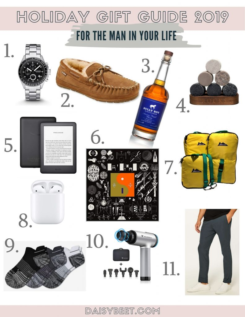 Holiday Gift Guide 2019 - For the Man in Your Life - Daisybeet