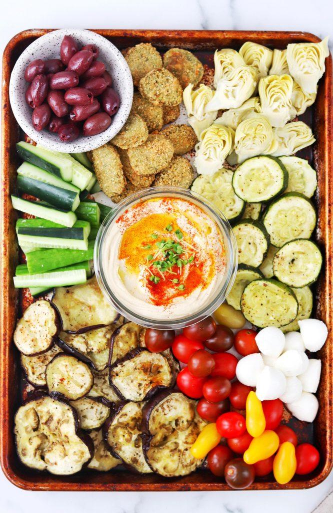 Vegetarian Mezze Platter - Daisybeet