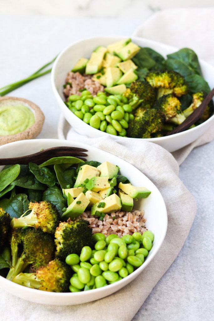 Green Goddess Grain Bowls - Daisybeet