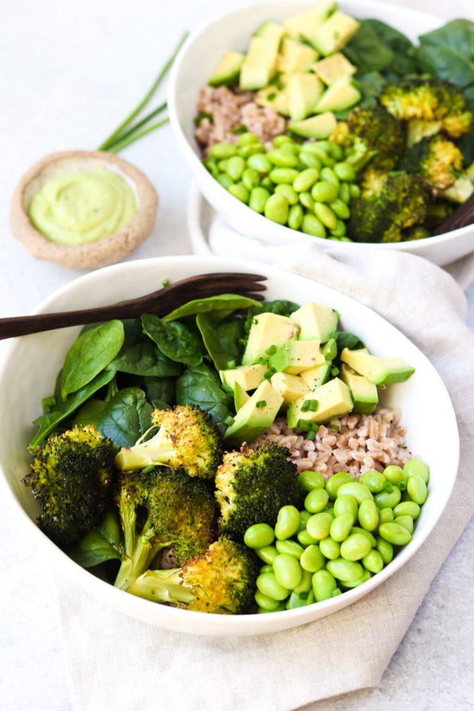 Green Goddess Grain Bowls - Healthy Pantry Staple Recipes - Daisybeet