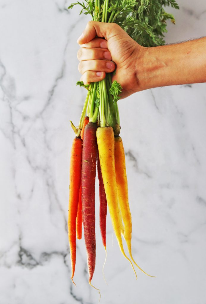 Bunch of Rainbow Carrots - Daisybeet