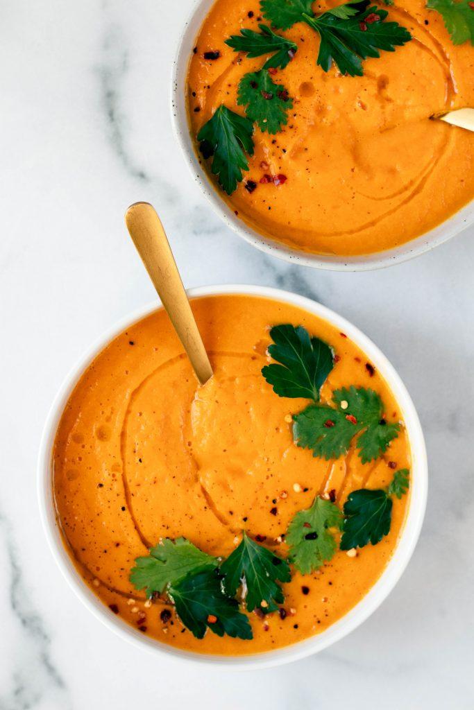 Healing Carrot Ginger Soup - Daisybeet