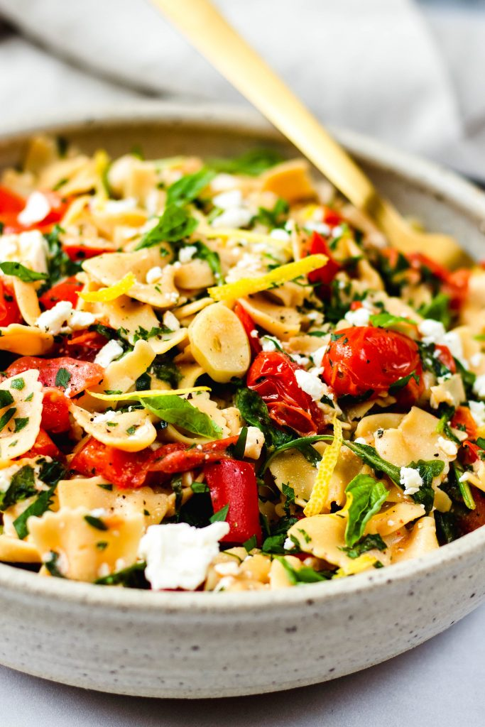 Roasted Pepper and Tomato Pasta - Daisybeet