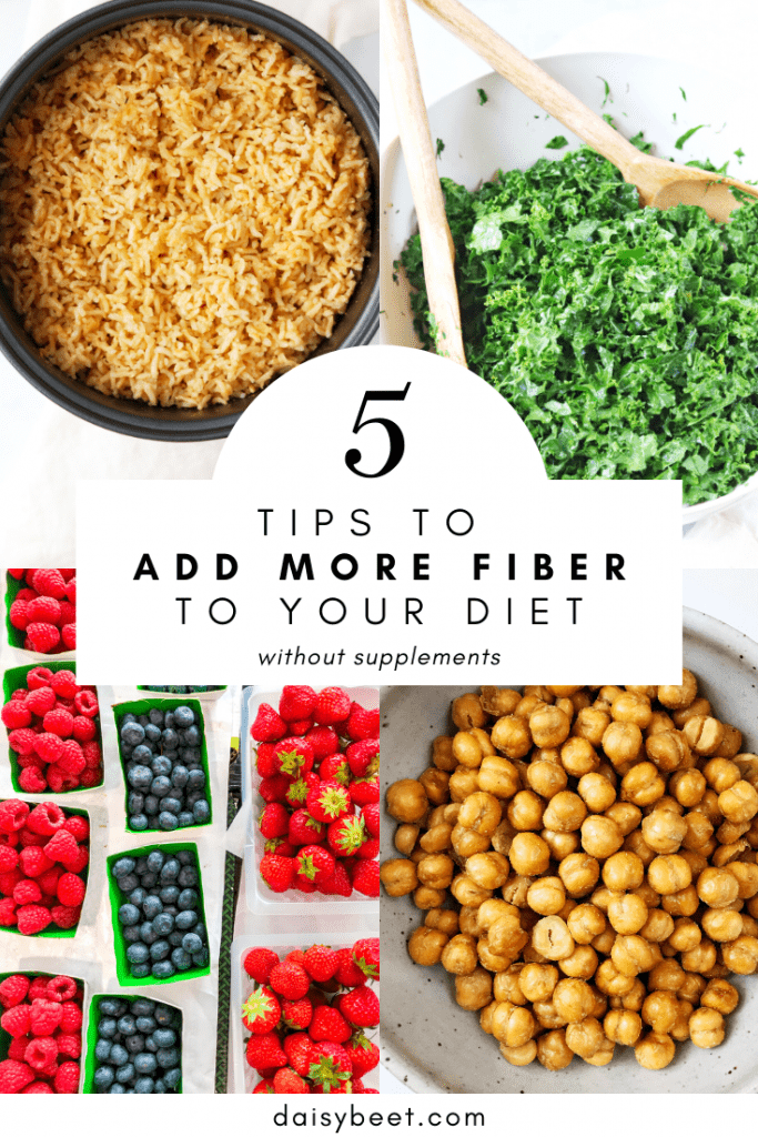 5 Tips to Add More Fiber to Your Diet