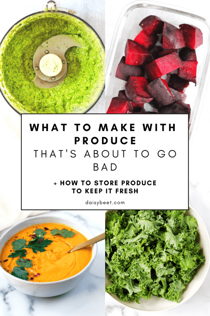 How to Prepare Produce That's About to Go Bad - Daisybeet