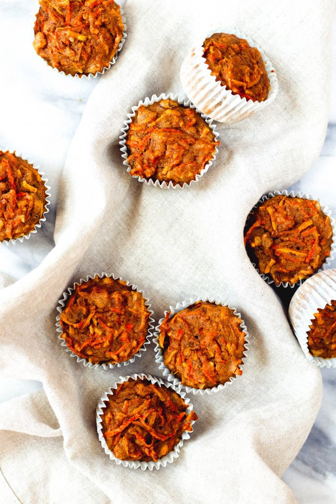 Whole Wheat Morning Glory Muffins - Daisybeet