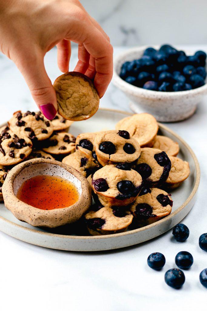 Healthy Pancake Mini Muffins - Daisybeet