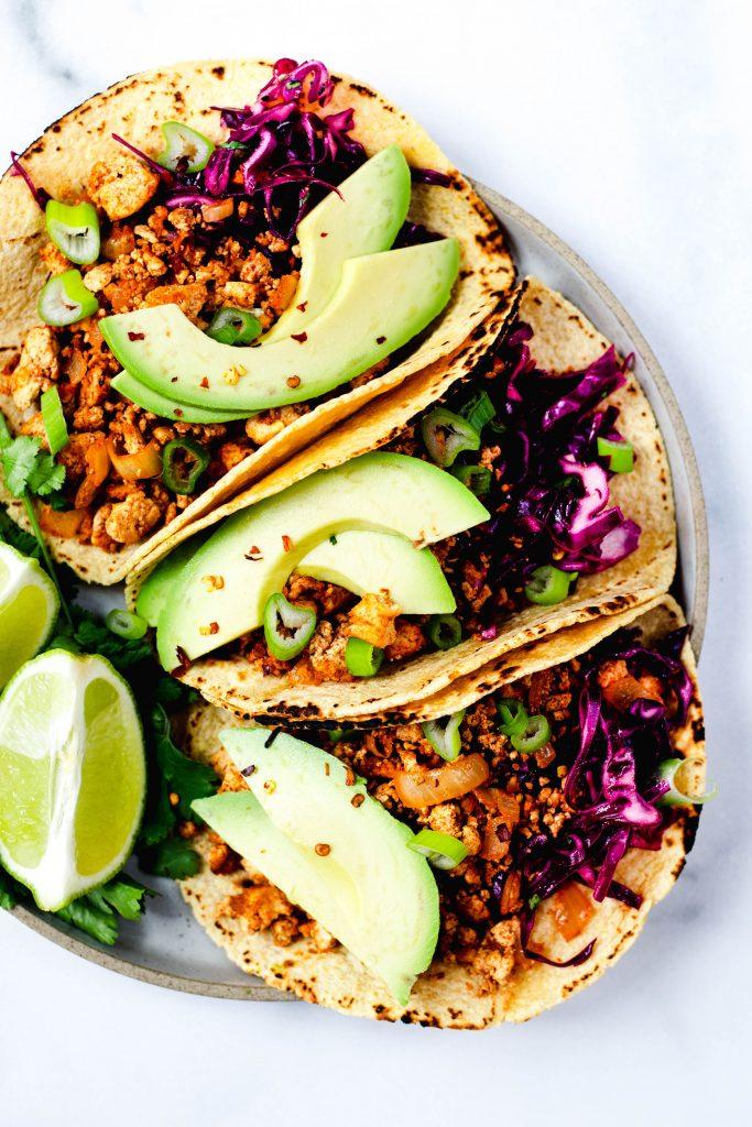 Chili Spiced Tofu Tacos (Vegan, Gluten Free) - Daisybeet