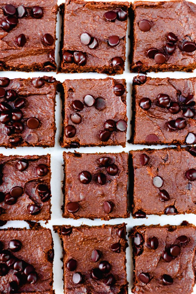 Five Ingredient Sweet Potato Brownies - Daisybeet