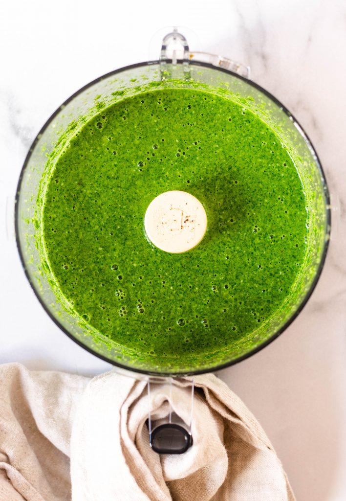 Spinach Green Sauce - Daisybeet