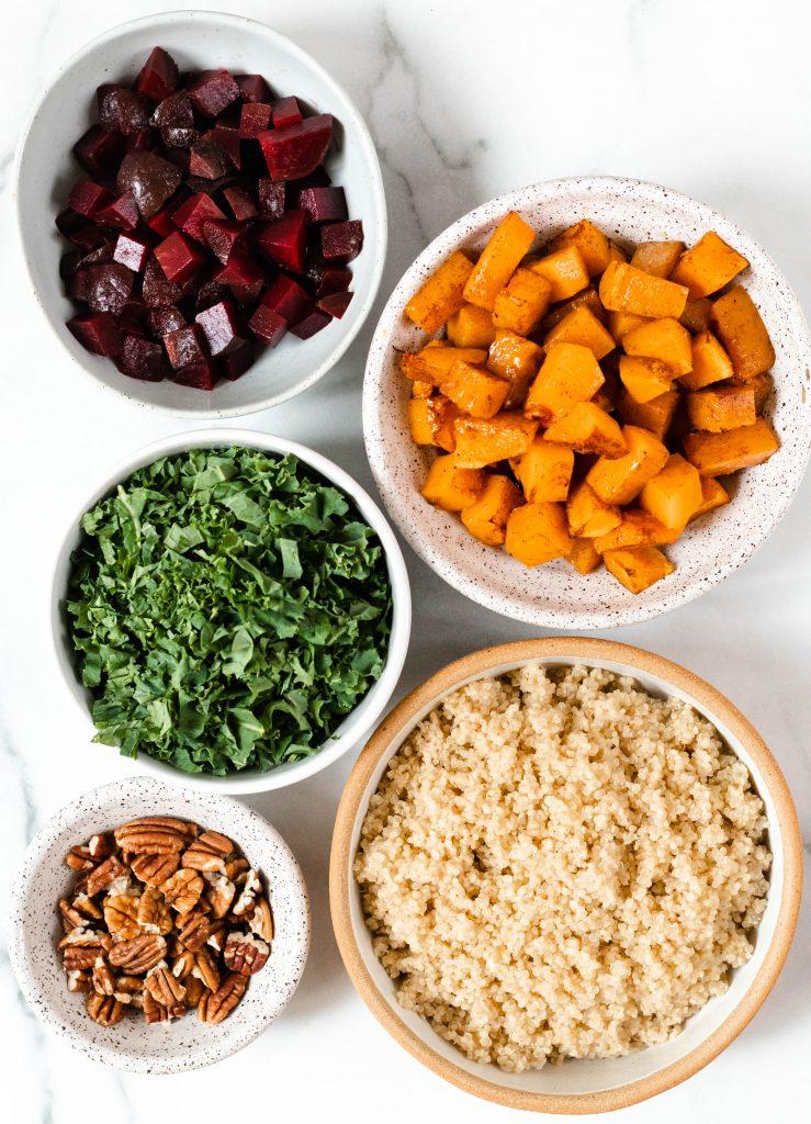 Beet Quinoa Salad Ingredients - Daisybeet