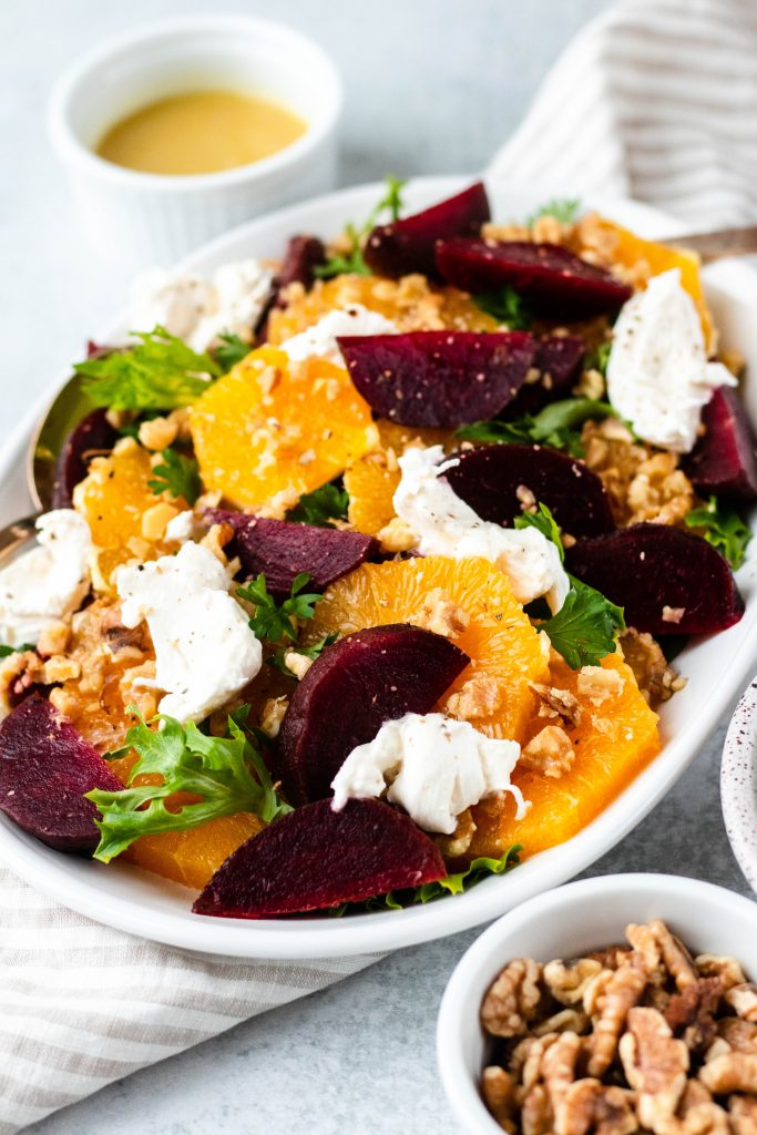 Citrus, Beet, and Burrata Salad (Gluten Free) - Daisybeet