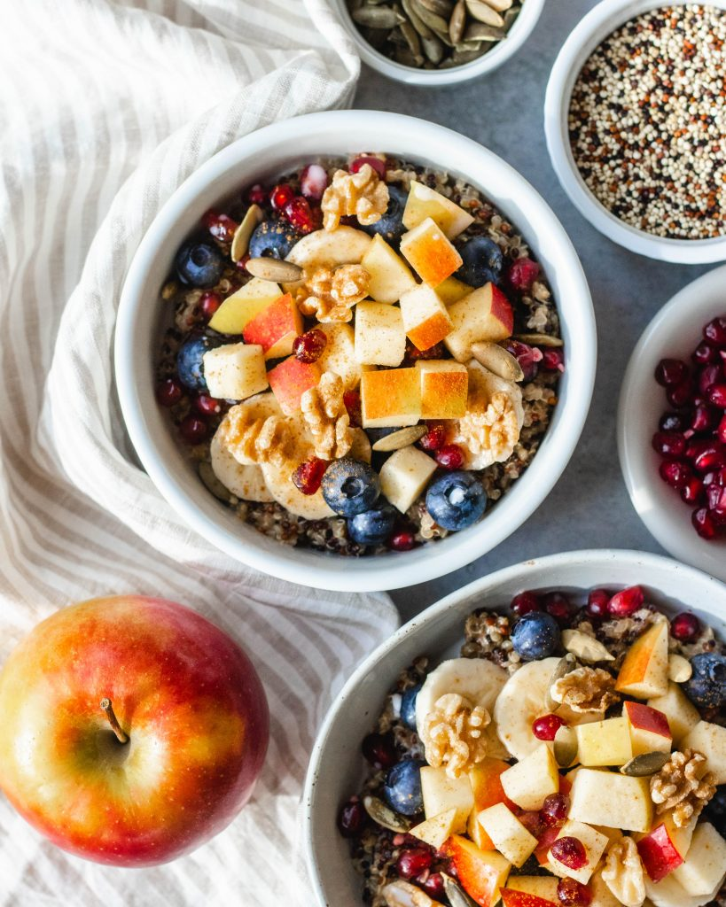 Coconut Quinoa Porridge with Cinnamon and Ginger (Vegan, Gluten Free) | Daisybeet, MS, RD