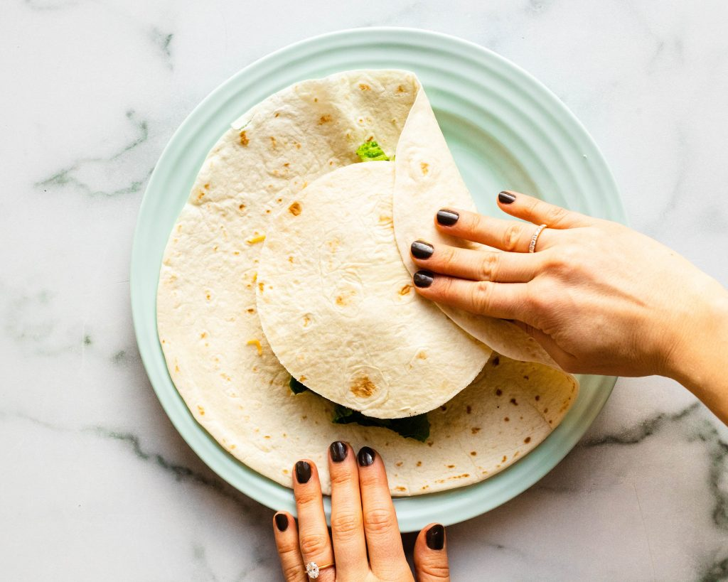 Homemade Vegetarian Crunchwrap Supreme | Daisybeet, MS, RD