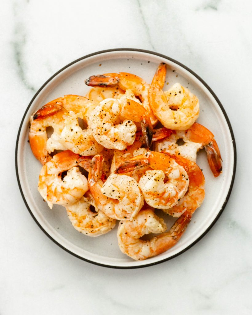 Angel Hair Pasta with Shrimp and Asparagus | Daisybeet | Alex Aldeborgh, MS, RD