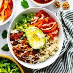 Vegan Burrito Bowls