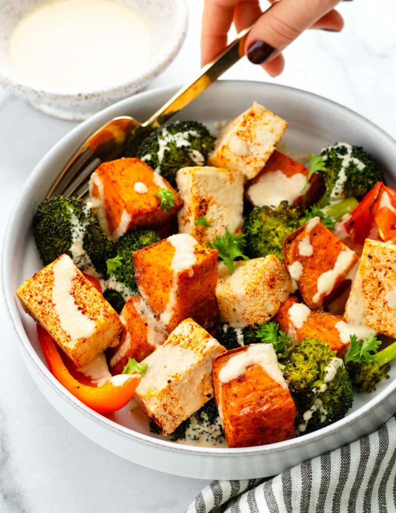 Vegan Sheet Pan Dinner | Daisybeet, MS, RD