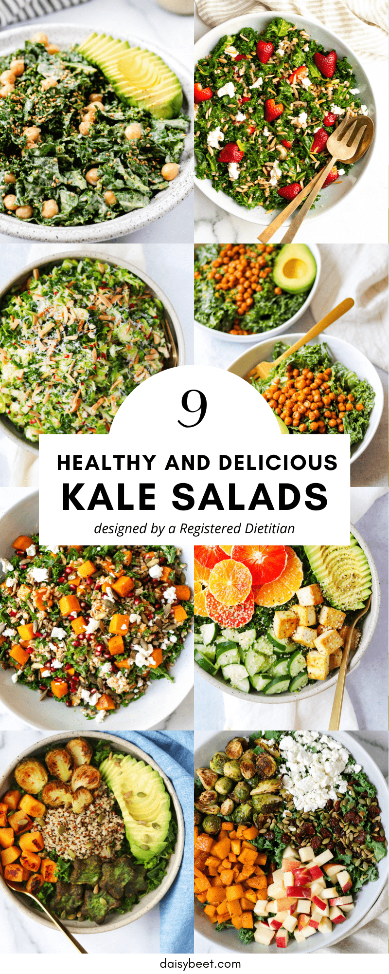 8 different kale salad recipes
